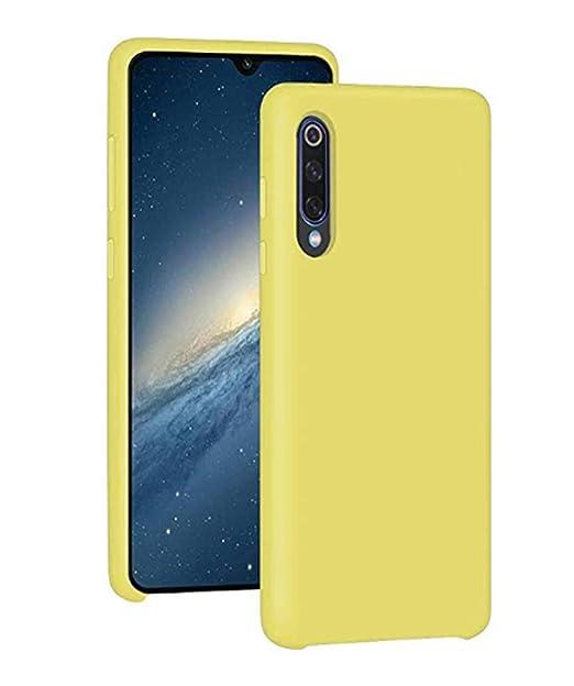 Jancyu Funda compatible con Xiaomi Mi 9 Carcasa 360 grados Protección Xiaomi Mi 9 SE líquida Silicona Suave Shell Ultra Slim Anti-Rasguño choque ...