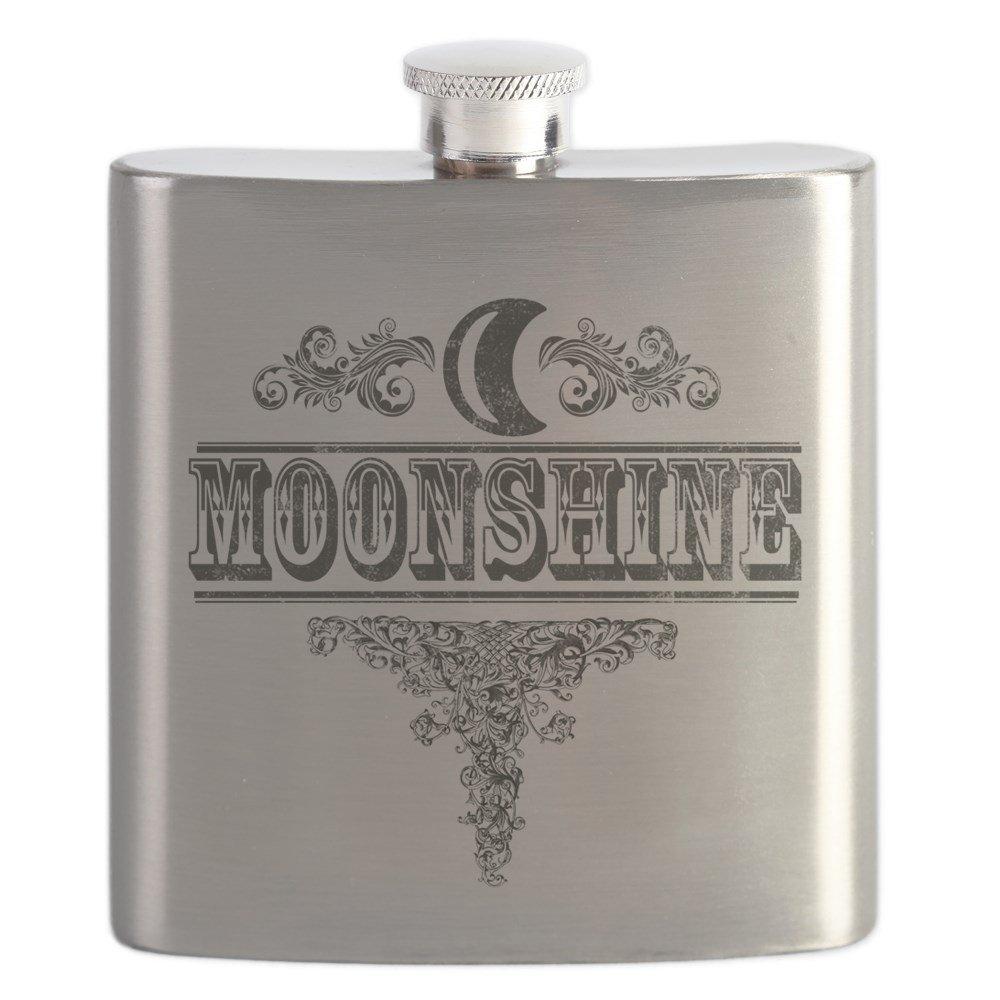 【本物新品保証】 CafePress Moonshine – – Moonshine – ステンレススチールフラスコ –、6オンスDrinkingフラスコ B0742CJ8JZ, 【ポイント10倍】:45d7d1ea --- a0267596.xsph.ru