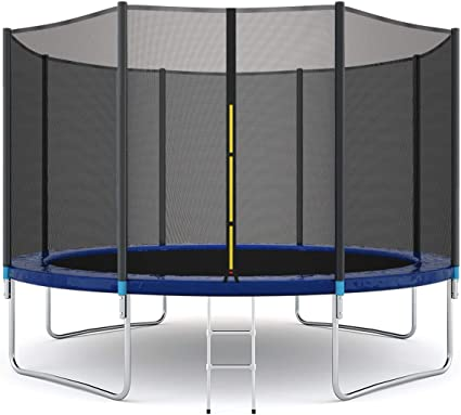 Giantex Trampoline with Safety Enclosure Net - Runner-Up