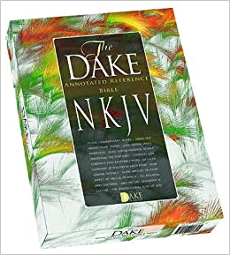 Dake's Annotated Reference Bible: New Kings James Version, Black