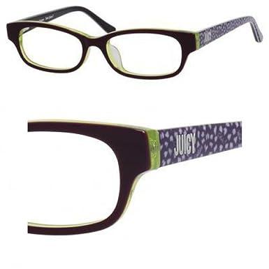 22587a7f80 Amazon.com  JUICY COUTURE Eyeglasses 918 F 0Fa3 Eggplant 48MM  Clothing