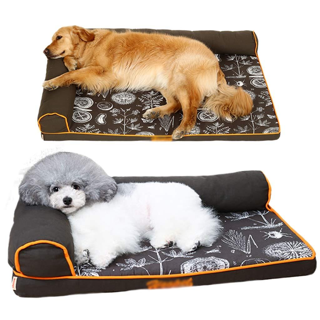 Cama perro Grande y Lavable para Perros medianos/Gatos / Mascotas, Camas perreras indestructibles duraderas para Perritos/Perritos, Negro (Tamaño ...