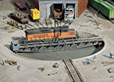 #8: Walthers Cornerstone Series174 HO Scale 90' Turntable Kit Pit Diameter: 13-3/16