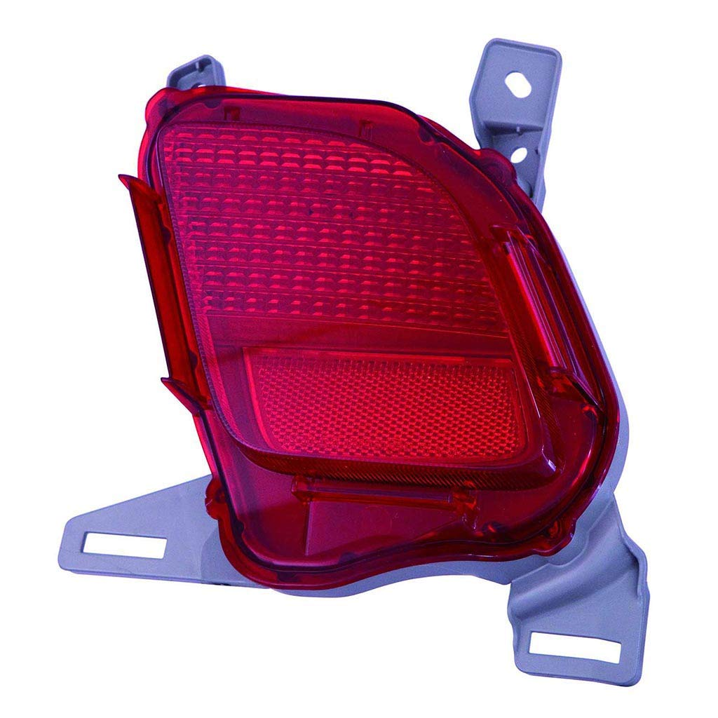 CarLights360: Fits 2014 2015 2016 2017 2018 TOYOTA HIGHLANDER Reflector Passenger Side - (CAPA Certified) Replacement for TO1185108