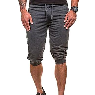 42daa22f737bfd Bliefescher Herren Casual Badehose Shorts Slim Fit Rasterung Atmungsaktiv  Freizeithose