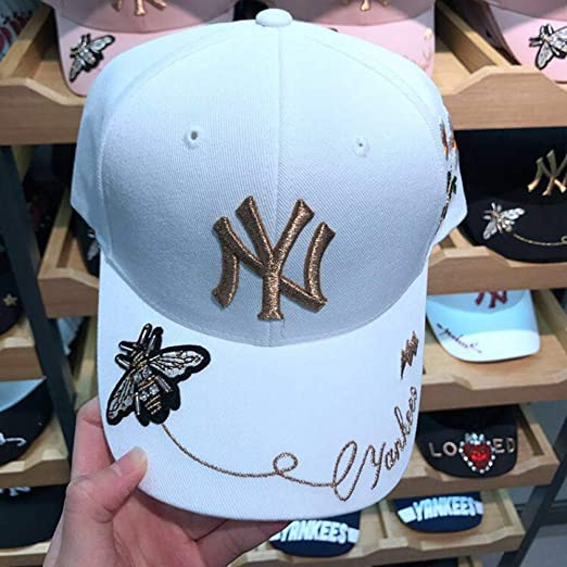 xiaochicun Nueva Marca de la Calle MLB Gorra de béisbol NY Hombres ...