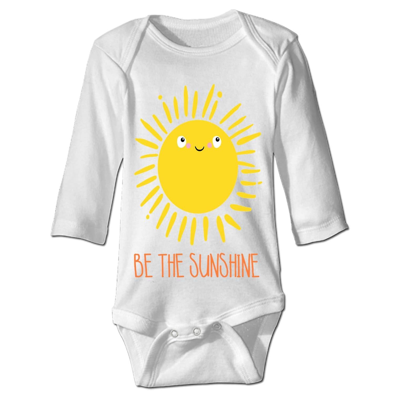 Imiss Be The Sunshine Romper Jumpsuit Unisex Baby Bodysuits