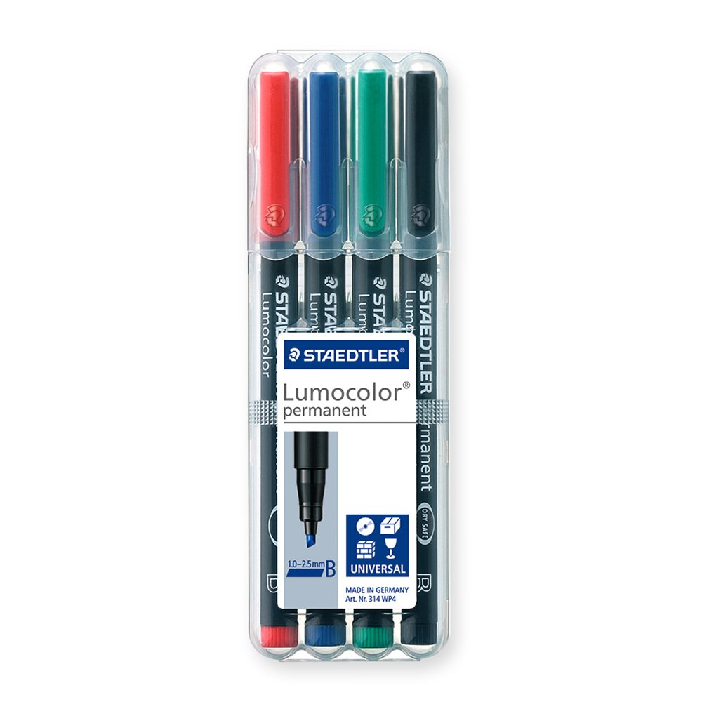 Staedtler 314 WP4 Penna B Permanente 314 WP4 ST