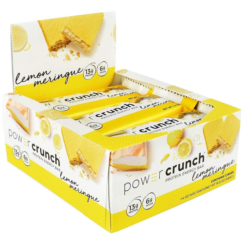 Power Crunch Bar Cookies+Creme (12 Bars) 1.44 Ounces
