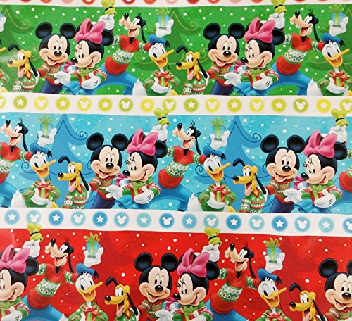 Disney's Mickey Mouse and Friends Officially Licensed Wrappi