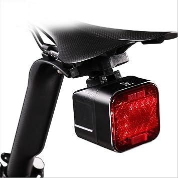 Luz trasera de bicicleta recargable por USB con Bluetooth para ...