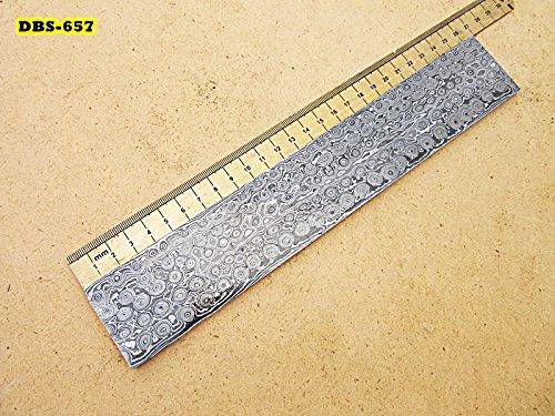DBS-657, Custom Handmade Damascus Steel Billet Knife/Blank Blade Making Bar