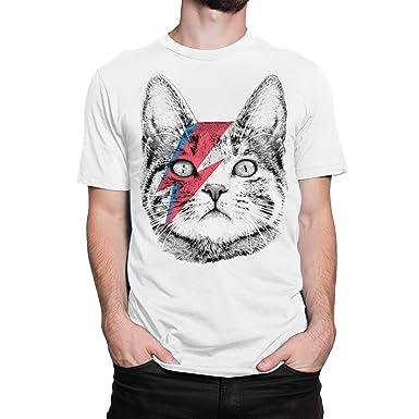 8aa2179bac3 Amazon.com  Ziggy Stardust Cat T-Shirt
