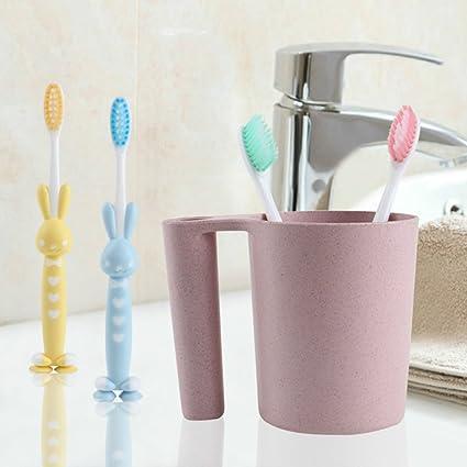 4pcs cepillo de dientes de cerda suave del bebé para niños, cepillo de dientes del
