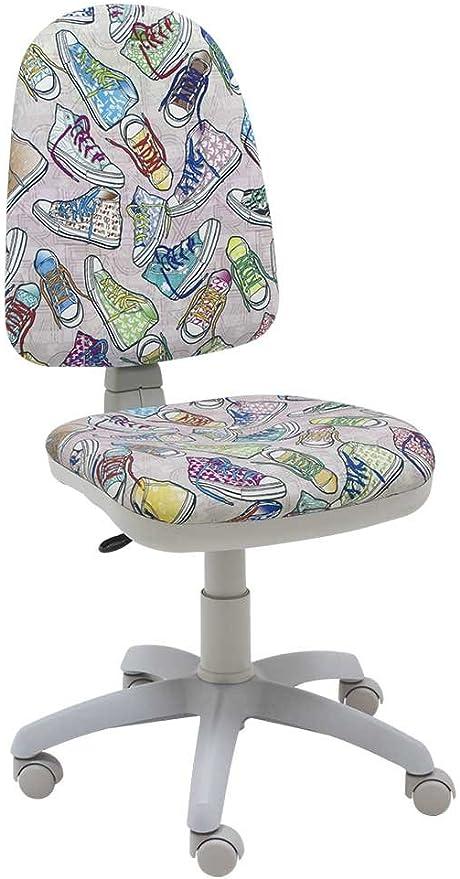 sillas escritorio tapizadas juveniles