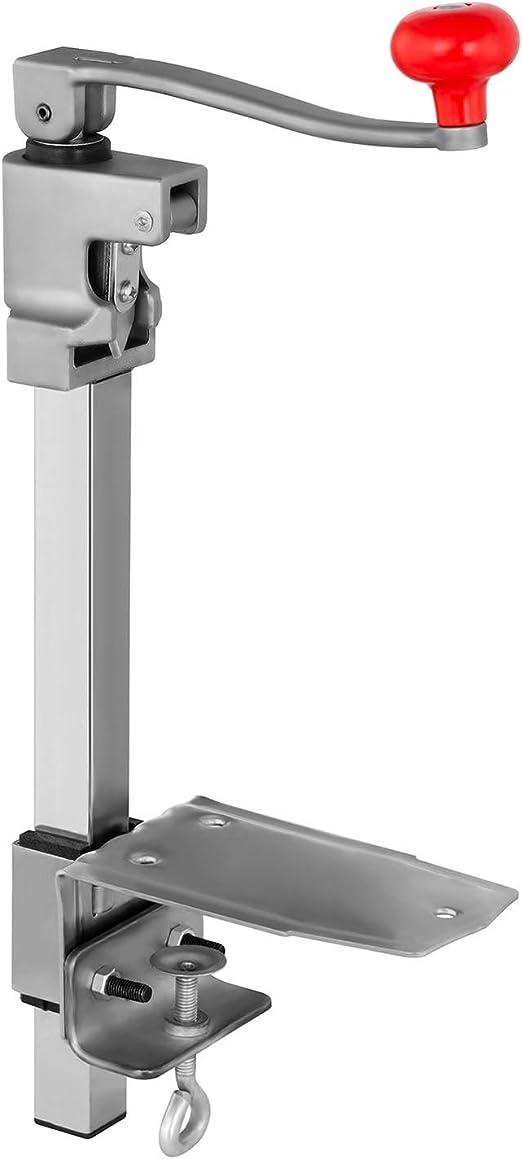 Compra Royal Catering RCTD-4 Abrelatas Industrial para latas cilíndricas (Acero Inoxidable, Altura de la Lata hasta 52 cm) en Amazon.es