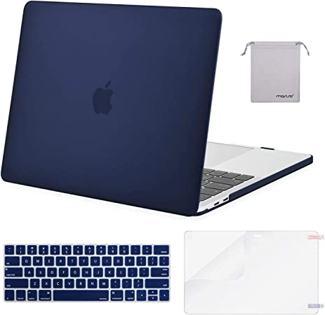 Abstract Golden Dots Red Art New Macbook Pro 16 Inch Case Navy Blue Air Case 13 Inches Macbook Pro 15 Case 2018 Touch Bar