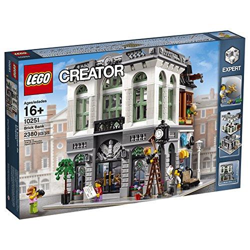 LEGO Creator Expert Brick Bank Building Kit (2380 Piece)