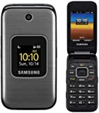 Samsung M400 Sprint CDMA Flip Cell Phone - Silver