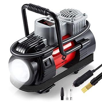 Amazon.com: Compresor de aire portátil, inflador de ...