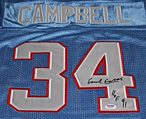 (EARL CAMPELL Signed