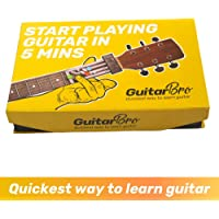 Guitar Bro Self-Learning System for Beginners (Includes Video Lectures, Guide Songbook, Learning Device [Right Handed Version],Free Guitar Picks,Progress Tracker,Community Support)