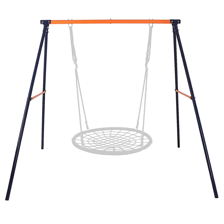 Super Deal heavy duty metal swing set