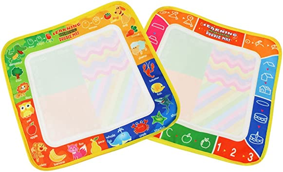 zhenleisier Kids Board Painting Doodle Magic Pen Writing Water Drawing Mat Learning Game Puzzle Interactive Development Educational Kids Toy Gift Multicolor #A