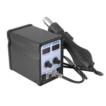 Estación de soldadura 2 en 1 kit de herramientas de reparación de soldadura sobre base de soldador de aire caliente para estación de soldadura: Amazon.es: ...