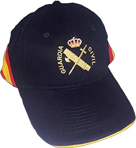 PC Gorra Bordada Guardia Civil Bandera de España Regulable: Amazon.es: Ropa y accesorios