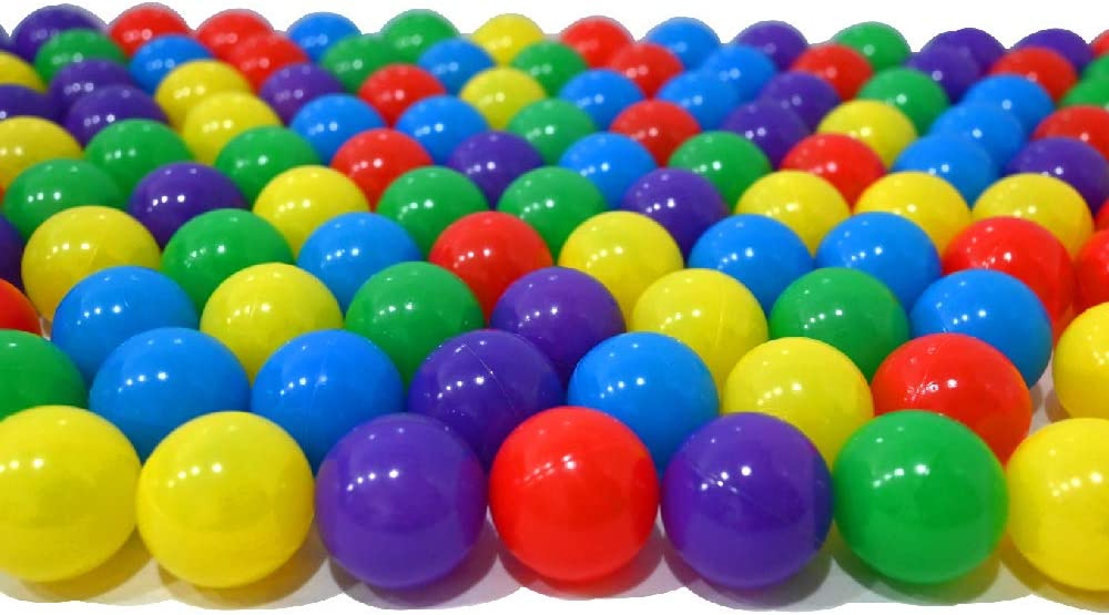 rot und gelb 150 B/älle f/ür B/ällebad gemischt mix mit blau