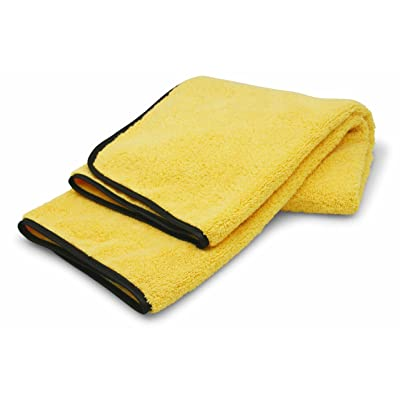 Carrand 40059AS Microfiber MAX Supreme Deep Pile Fiber Drying Towel - 5.5 square ft.: Automotive
