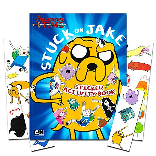Adventure Time Stickers and Temporary Tattoos Party Favors Pack -- 70 Stickers and 12 Tattoos (Adventure Time Party Supplies) ()