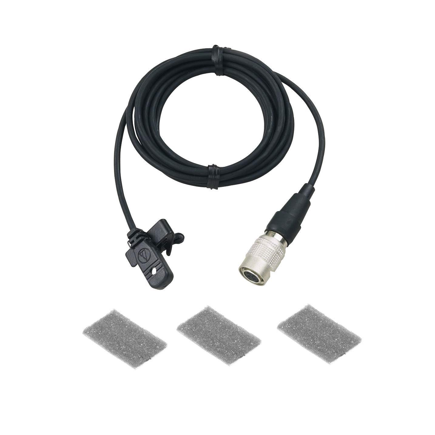 Audio-Technica MT830cW Omnidirectional Condenser Lavalier Microphone