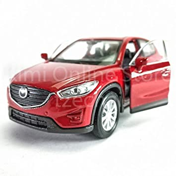 Welly 1 34 1 39 Die Cast Mazda Cx 5 Car Red Color Model Collection