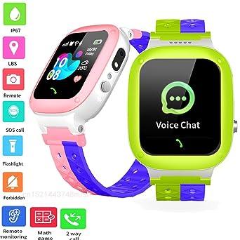UNIQUS Q18 Smart Watch Kids IP67 Waterproof Baby Watch LBS SOS ...