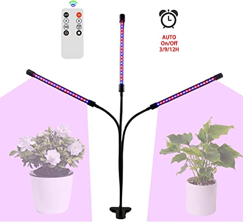 LED Grow Lights, Full Spectrum Panel Grow Lamp with IR UV LED Plant Lights for Indoor Plants,Micro Greens,Clones,Succulents,Seedlings
