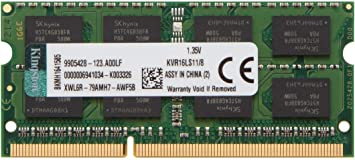 New Kingston 8GB DDR3 1600M​Hz PC3L-12800 204Pin 1.35V SODIMM Laptop Memory
