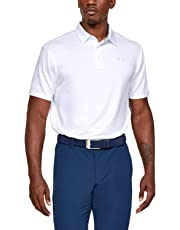 Under Armour Herren Playoff 2.0 Poloshirt, atmungsaktives Sportshirt, komfortables und kurzärmliges Funktionsshirt mit loser Passform