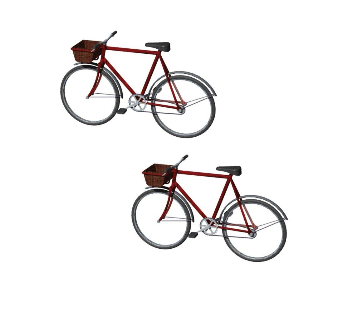 Hornby Accesorios para edificios: Bicicletas (R8679) 6844