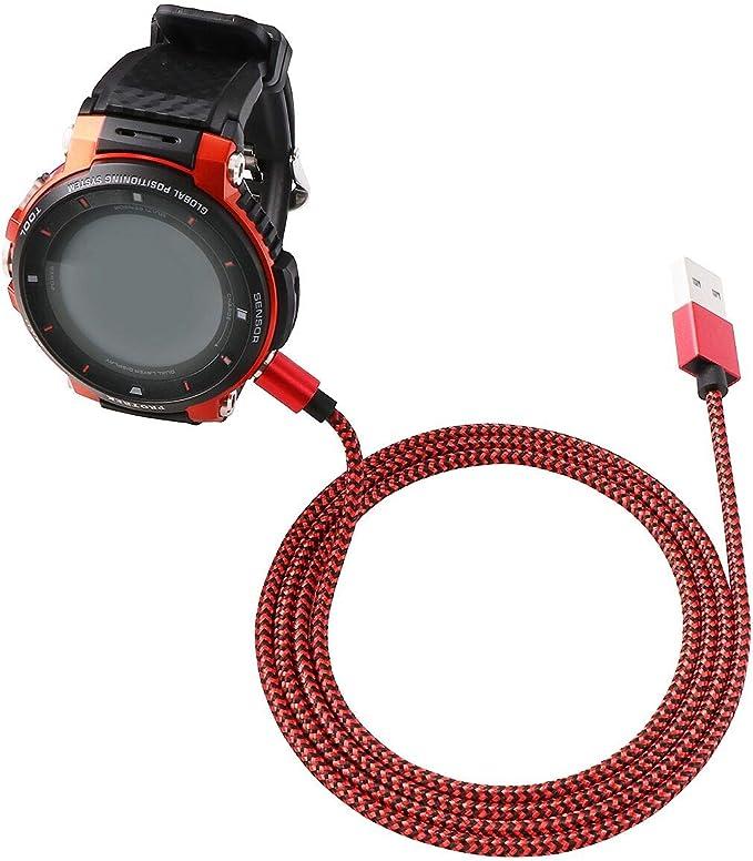 Cable de Carga magnético Trenzado de Nailon para Reloj Inteligente ...