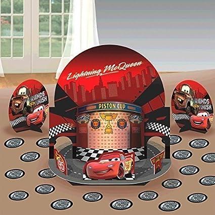 Amazon New Disney Cars Party Table Decorations Kit