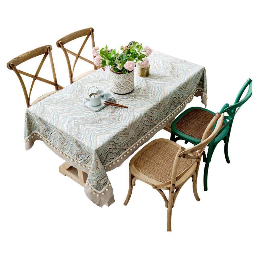 CUlaP Algodón y lino Mantel Furnily Rectangulares Manteles Para La ...