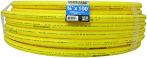 HOME-FLEX 19-0711100 Yellow Underground IPS Poly Gas Pipe (3/4, 100)