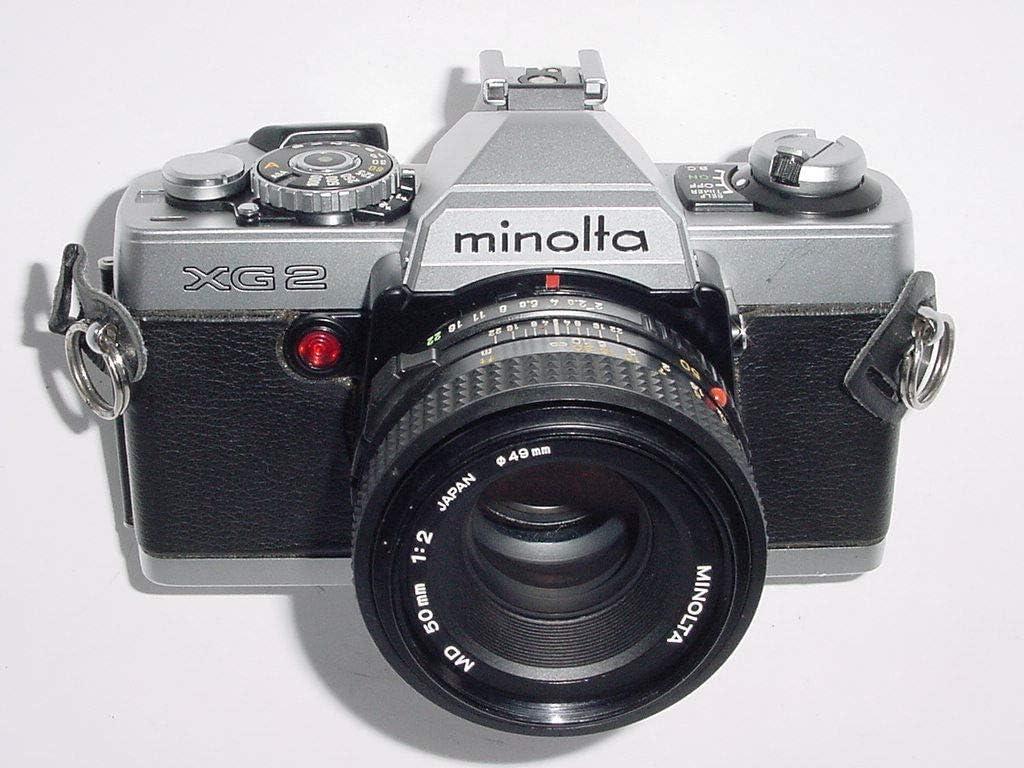 MINOLTA XG2 SLR de cámara de cine: Amazon.es: Electrónica
