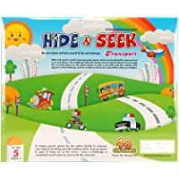 METRO TOY'S & GIFT Hide & Seek Transport- 48 Challenges- an Award Winning Brain Teasing Puzzle Game for Kids Age 5 Years & Above.