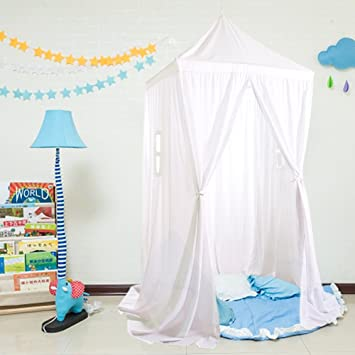 Loisleila New Large Square Kids Bed Canopy Hanging Play Canopy 230(H)*480 : kids play canopy - memphite.com