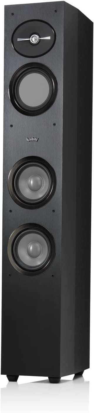 Infinity Reference R253 | Black 3-Way Floorstanding Speaker (Ea.)