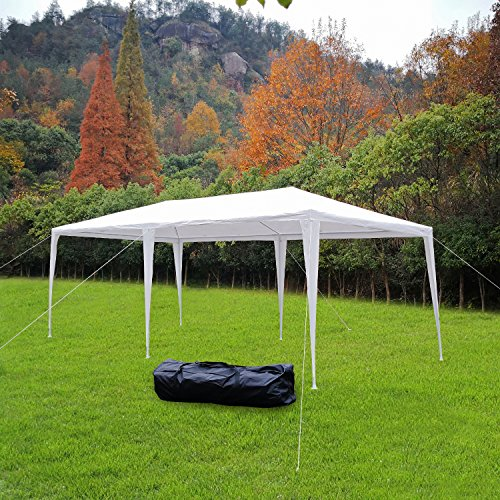 Bonnlo Heavy Duty Outdoor Canopy Wedding Party Tent with Removable SidewallsUpgraded Steady Sun Snow Shelter Gazebo Pavilionw/ Carrying Case Bag & Bonnlo Heavy Duty Outdoor Canopy Wedding Party Tent with Removable ...