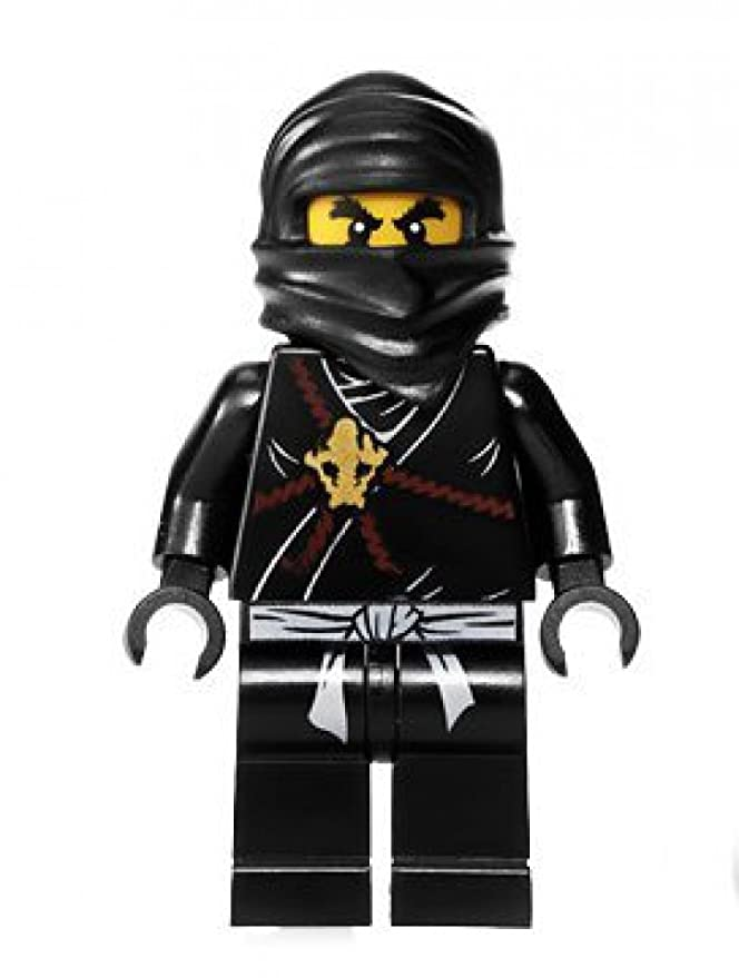 Amazon.com: LEGO Cole Ninjago Minifigura – Negro: Toys & Games